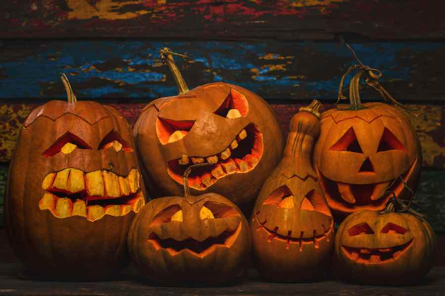 Amazingly Spooky Carved Pumpkins