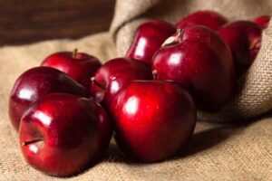 Bag of Red Delicious Apples