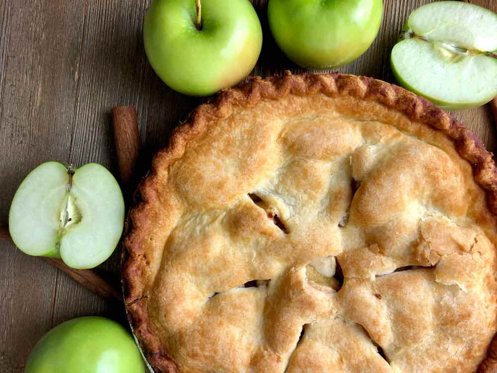 Apple Pie made from Granny Smith Apples