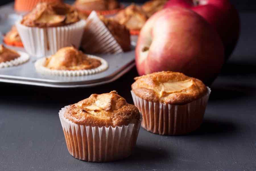 Baking Apple Muffins