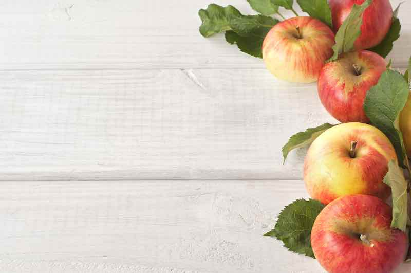 Organic Red Akane Apples