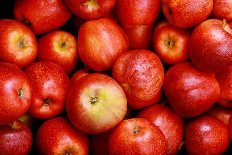 Red Cortland Apples