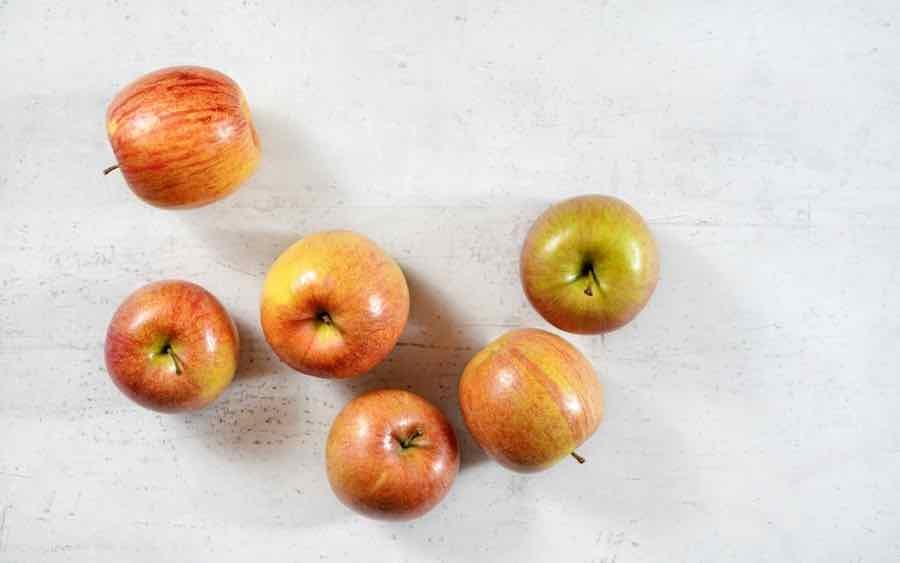 Red and Yellow Kiku Apples