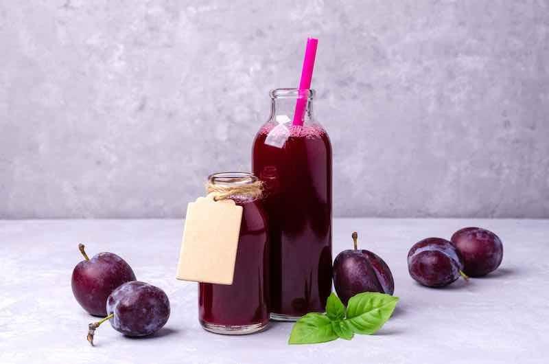 Red plum juice
