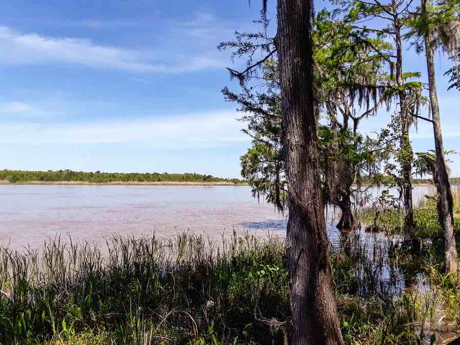 Tensaw River Delta at Historic Blakeley State Park in Spanish Fort, Alabama