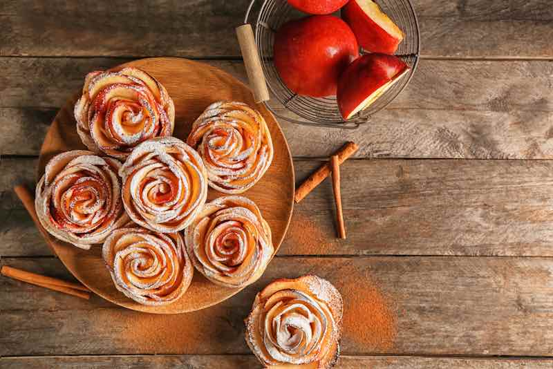 Zestar Apple Pastries