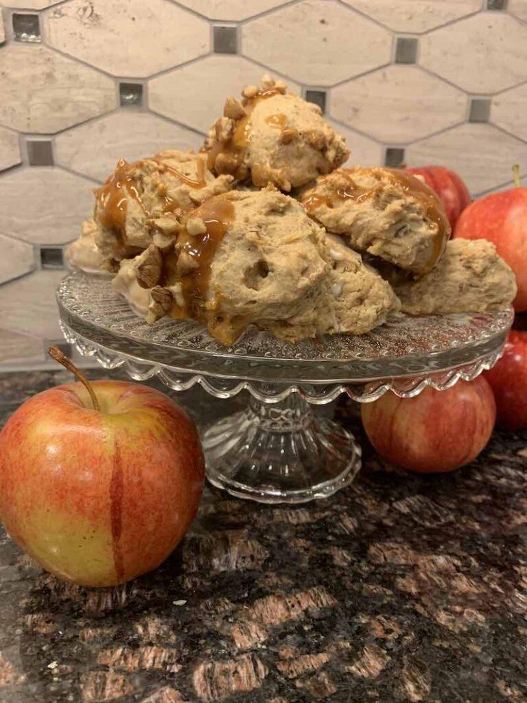 Applesauce Cookies on a Platter