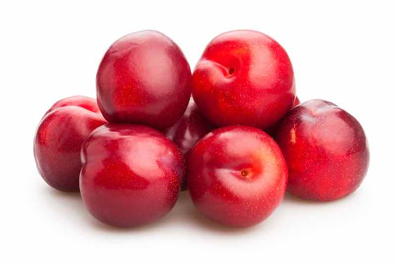 Red Superior Plums