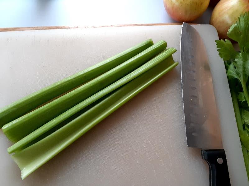 Celery stalks.