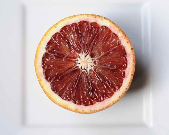 Center of a Blood Orange
