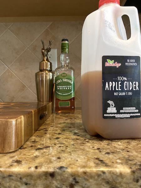 Finished apple cider concentrate.