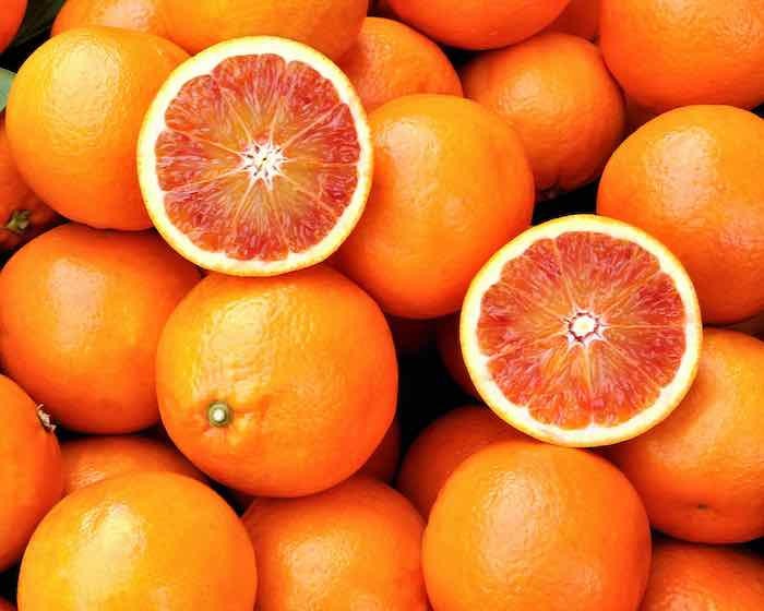 Blood Oranges fresh from the tree