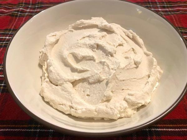Homemade Keto Whipped Cream