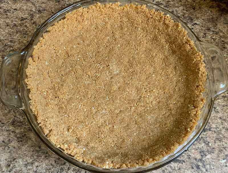 cheesecake crust.