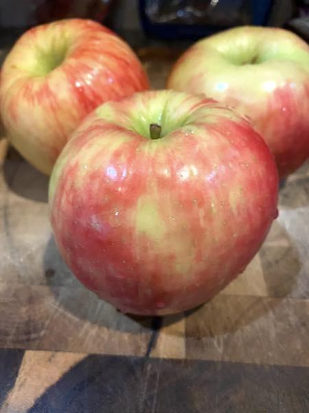 Honey crisp apples.