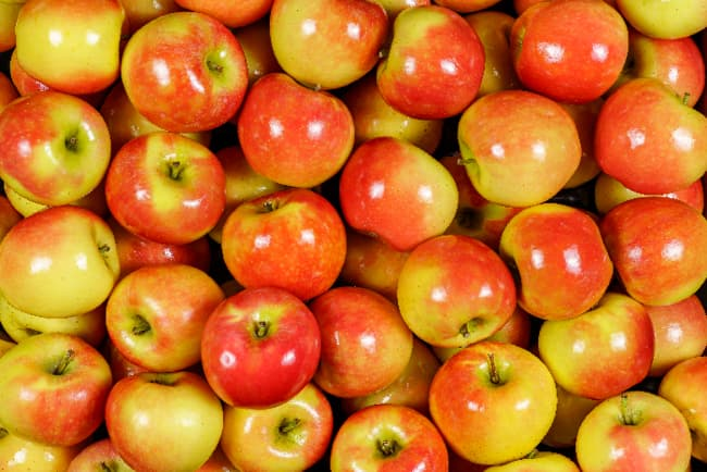 Picked Kanzi apples.