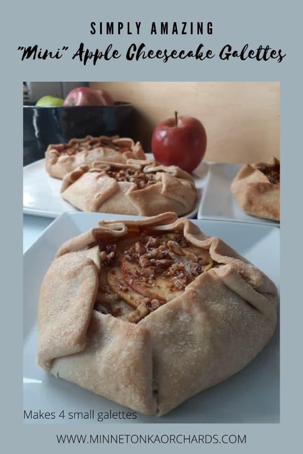 Pinterest Hero for Apple Cheesecake Galettes