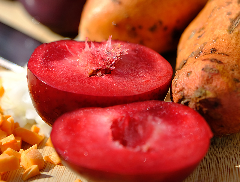 ingredients for plum sauce