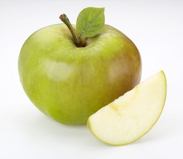 Bramley cooking apple.