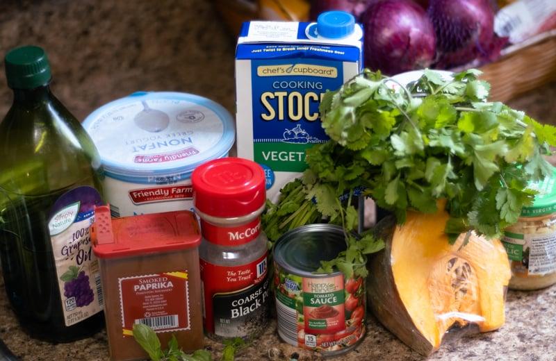Ingredients for Kadu.