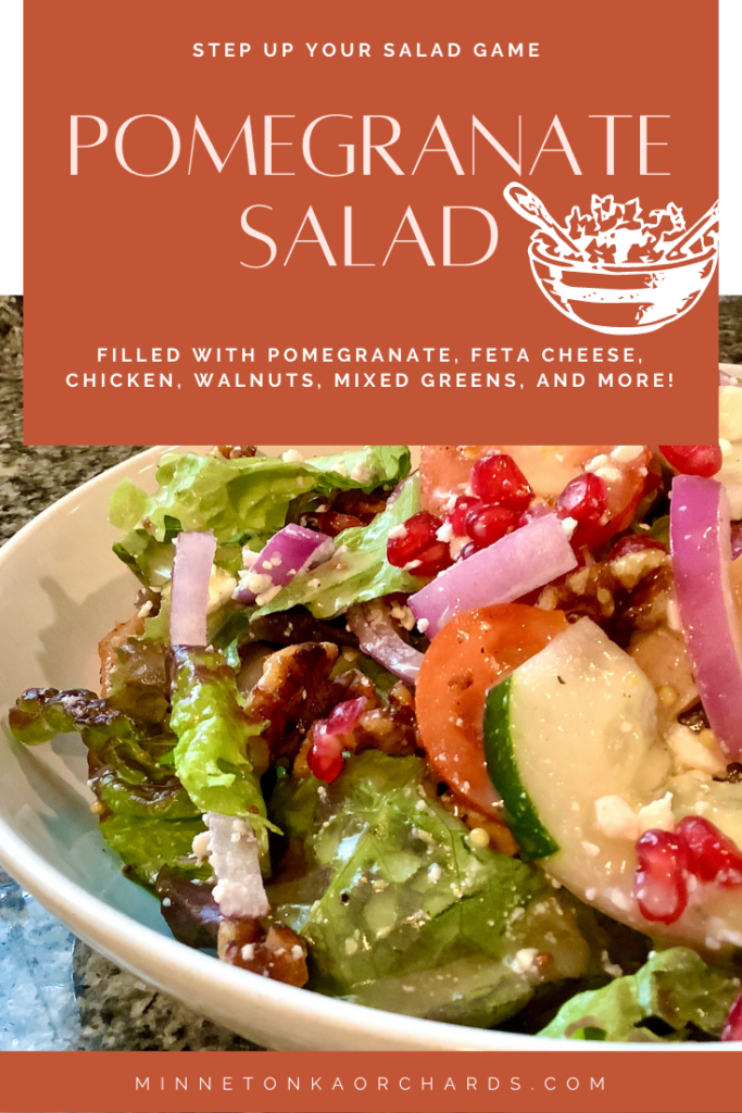 Pomegranate salad pinterest